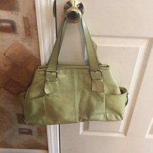 Kenneth Cole leather handbag